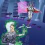 Danny Phantom meets Vlad Plasmius - Jojo Style by RPGgrenade