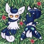 Meowstic Copic Marker Illustration