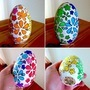Designed Wooden Egg