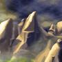 Craggy peaks by Baarmaboi