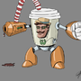 Hipsterbot by LeCanart