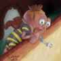 Honey Thief by ponderous-plants