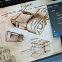 Mid creation-DaVinci's Wall-e 2 by ACillustration
