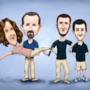 Family Caricature by matthewsjc1