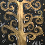 Gustav Klimpt's tree of life made in art prep by MilesW
