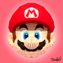 Polygonal Mario by HangoversCreations