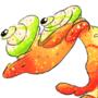 Fruit Smoothie Chameleon by Seanatar
