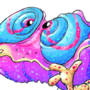 Bashful Chameleon by Seanatar