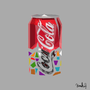 Coke Can Polygon Corruption by HangoversCreations