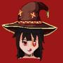 Megumin arch wizard pixel art by Shidoisnthere