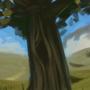 Hyrulian Field by widemouthink
