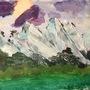 Mountain Landscape by DAPPERMONKEYS