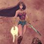 Wonder Woman Fan Art by GioJayEvanglista