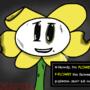 H-Howdy, I'm Flowey... (Undertale Underfell AU) by easteregg316