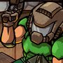Mini Doom 2 Cover Art by Fingus1