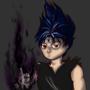 Edgy black fire by KloudKat