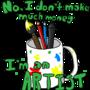 I'm an ARTIST! by Hobbitman1636