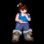 Mei pixel art by MarleyProctor