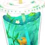 Ocean Drink by KingOfFatCats