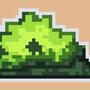 bushes pixel art by Shidoisnthere