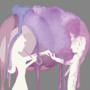 Watercolor Rain by Grinberries