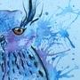 freaky owl by MallalaiZuzanny