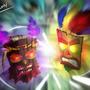 Aku-Aku vs Uka-Uka by LeonLucena