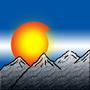 Flag of Colorado with Mountains by NostalgicNerd94