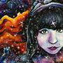 The Cosmic Adventurer by Littleluckylink