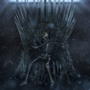 Skeleton on the Iron Throne by LiamJMWilson