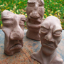 3 Clay Heads by Fleshlight