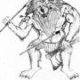 lion man by blak-jax