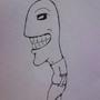 Creepy Guy Sketch by Lokardo