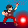 Demenius Attacking Thing by TheCriminalDuder