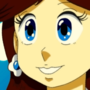 80s Anime Princess Daisy