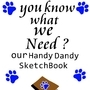 Handy Dandy Sketchbook by PrettyKitty98