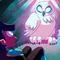 Chroma Black Demo - Giant Owl - BG+Shadow Keys 3