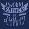 I Would Rather Be Drawing - Tshirt Design