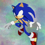 Simple Sonic by Fluffz