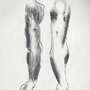 Leg and Arm sketch by PungentGallery