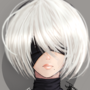 2B Portrait by Kazuno