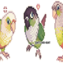 Conure Sprites by Anti-Dark-Heart