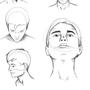 Head Digital Study by LunaKoraDesigns
