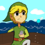 Toon Link by Inswivnia