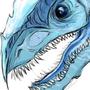 Blue Eyes Titanium Hwhite Dragon