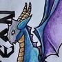 Spyreon dragontype by LoredanaTattoo
