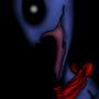 blue scream by VictorMazza