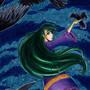 Raven Copic Marker Illustration by ScribbleFix