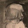 Charcoal Figure Drawing (July 25th) by ElectroJoe