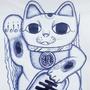 Maneki neko by TheChessPlayer